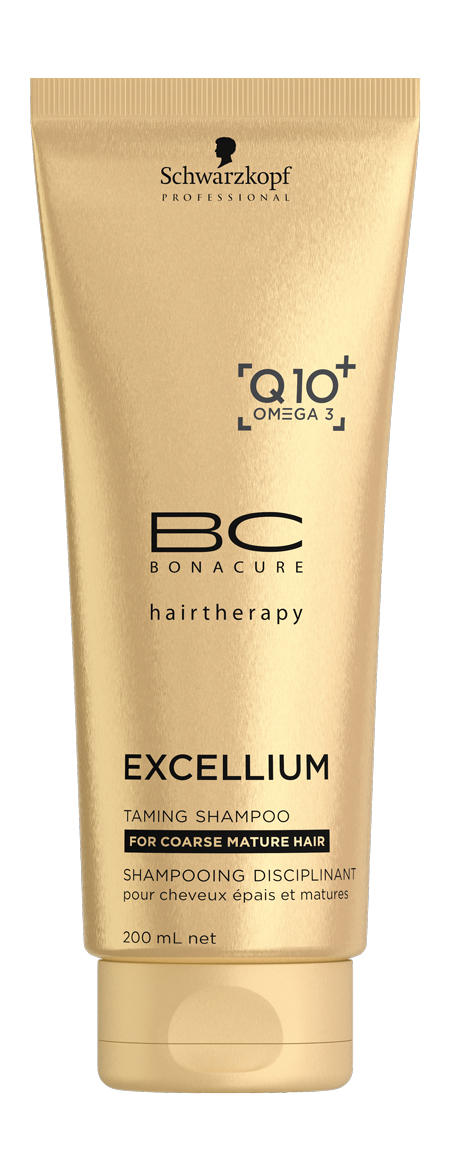 BC Смягчающий шампунь Excellium Taming Shampoo 200 мл (BC Bonacure)