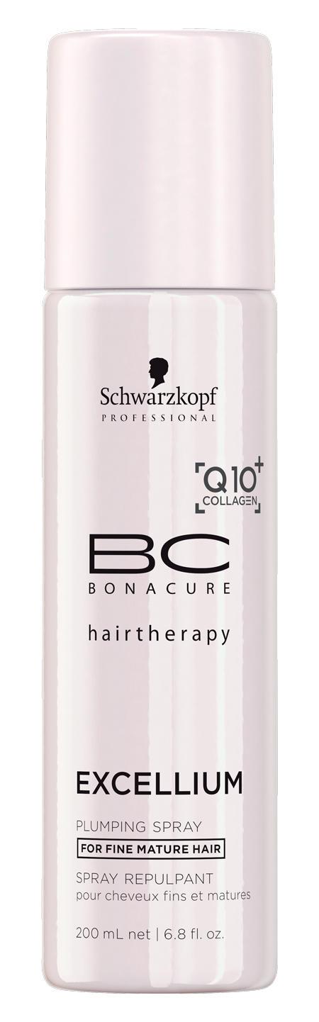 Schwarzkopf Professional BC Уплотняющий спрей-кондиционер Excellium Plumping Spray-Conditioner 200 мл (BC Bonacure)