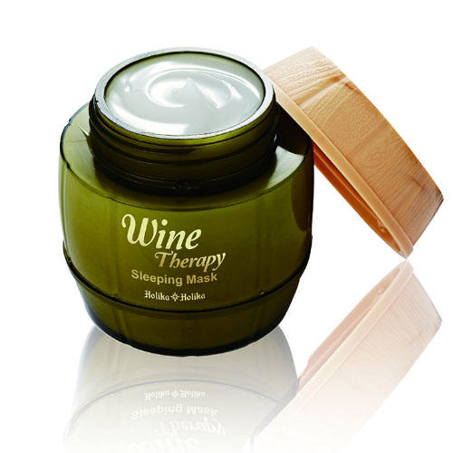 Холика Холика Wine Therapy Sleeping Mask White Wine - Маска для лица ночная, белое вино, 120 мл (Holika Holika, Wine Therapy) фото 0