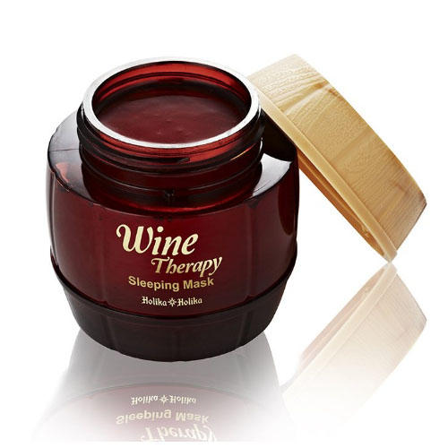 Wine Therapy Sleeping Mask Red Wine - Маска для лица ночная, красное вино, 120 мл (Wine Therapy)