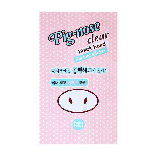 Очищающие полоски для носа, 10 штук 10 г (Holika Holika, Pignose) патчи для носа holika holika pignose clear black head perfect sticker set