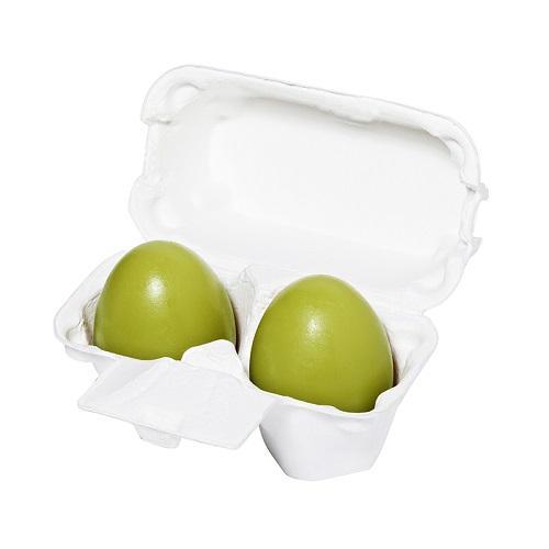 Мыло-маска с зеленым чаем  2х50 гр (Egg Soap)