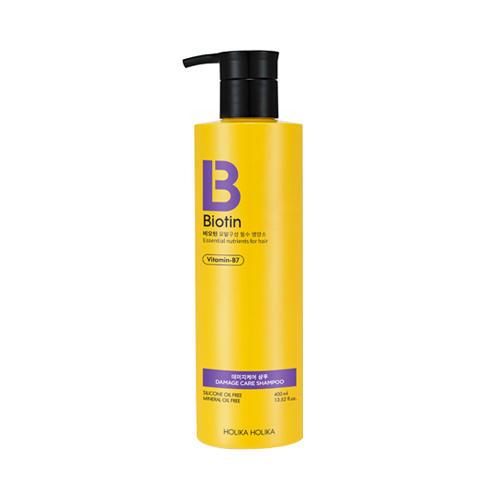 Holika Holika Шампунь для поврежденных волос Биотин  400 мл (Biotin)