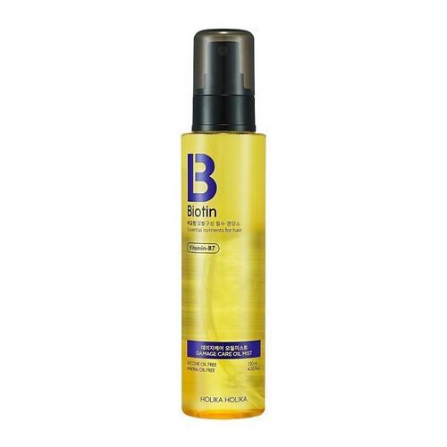Масляный мист для волос Damagecare Oil Mist 120 мл (Holika Holika, Biotin) интенсивно увлажняющий бальзам карандаш для губ holika holika good cera super ceramide lip oil stick
