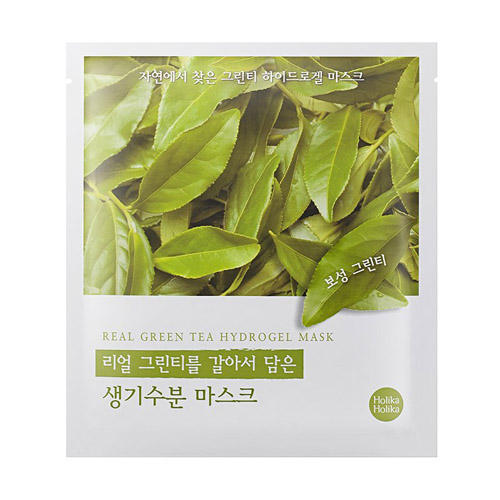 Гидрогелевая маска, зеленый чай 32 гр (Holika , Found From Nature)