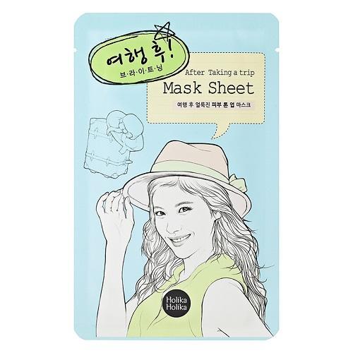 Тканевая маска для лица После поездки 16 мл (Holika Holika, Before) маска пленка для придания упругости коже лица health