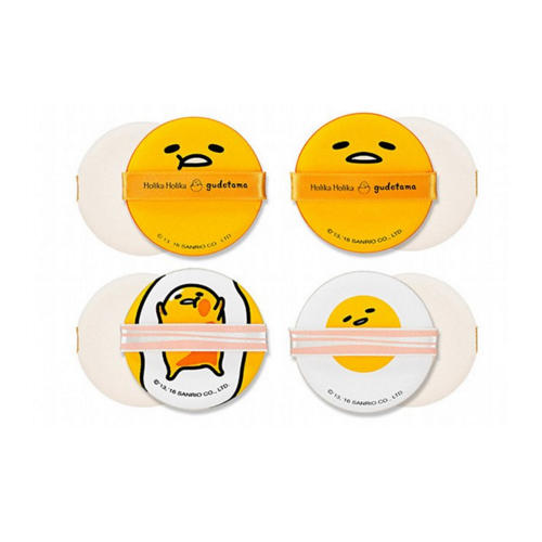 Gudetama Chop Chop Cushion Puff Set Спонжи Чоп Чоп, набор из 4 шт (Аccessory) от Pharmacosmetica