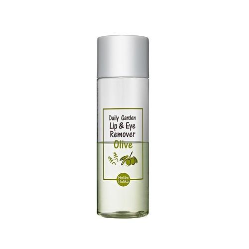 Holika Holika Средство для снятия макияжа с глаз и губ, с экстрактом Оливы  100 мл (Daily Garden)