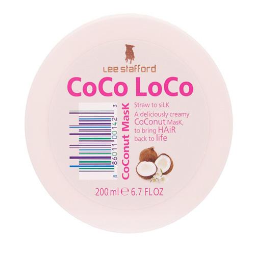 Lee stafford Увлажняющая маска для волос с кокосовым маслом 200 мл (Сосо Loco)