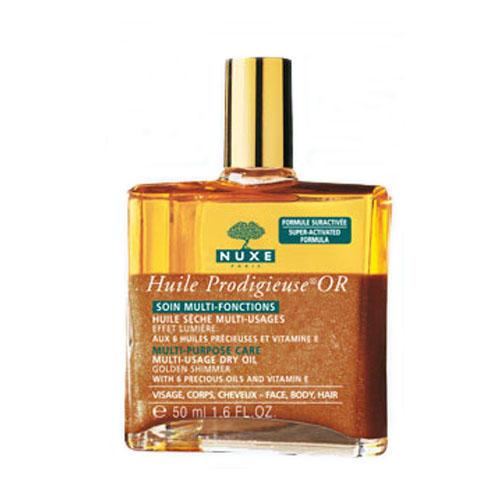 Продижьез Золотое масло для лица, тела и волос 50 мл (Prodigieuse) (Nuxe)