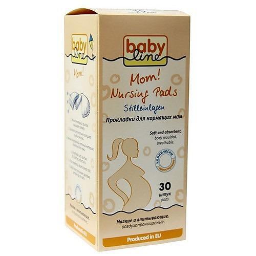 Прокладки для груди 30шт (Baby line, Для тела)