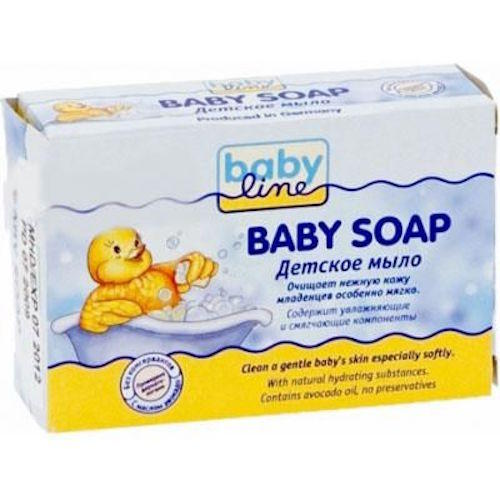 Детское мыло 100 г (Baby line, Для купания) круг для купания младенцев flipper отзывы