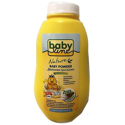 Baby line babyline nature присыпка детская с оксидом цинка 125 г
