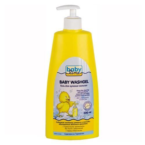 Baby line Гель для купания (с помпой) 500 мл (Для купания)