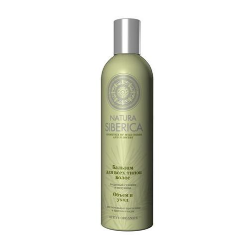 Natura Siberica Бальзам для всех типов волос Объем и уход  400 мл (Био-уход за волосами)