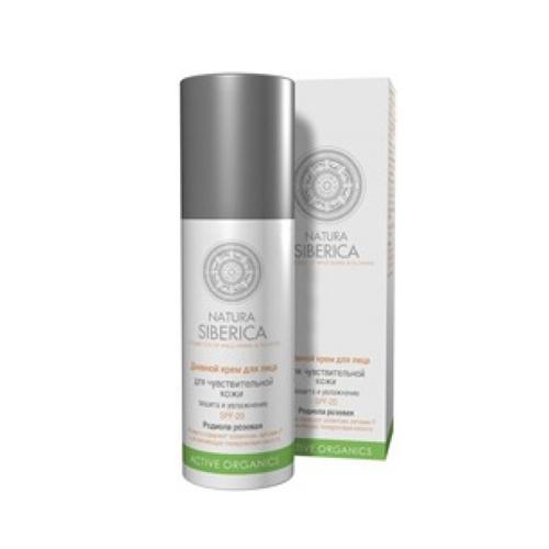 Крем для лица дневной для чувствительной кожи SPF 20 50 мл (Natura Siberica, Active Organics) крем natura siberica дневной крем для чувствительной кожи 50 мл
