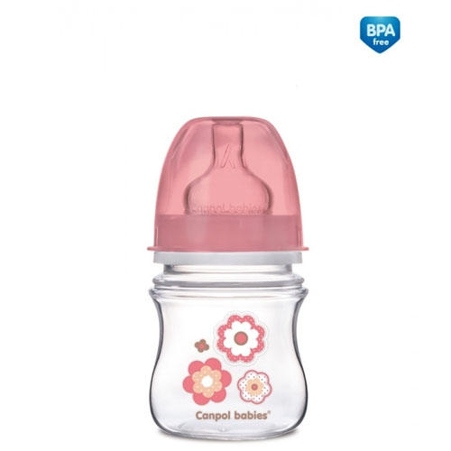 Бутылочка PP EasyStart с широким горлышком антиколиковая, 120 мл, 0 Newborn baby 1 шт (Canpol, Бутылочки) бутылочки canpol pp easystart с широким горлышком антиколиковая 120 мл 0 newborn baby