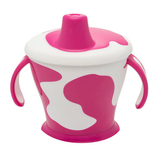 Canpol Чашка-непроливайка с ручками Little cow 9+, 250 мл (Посуда)