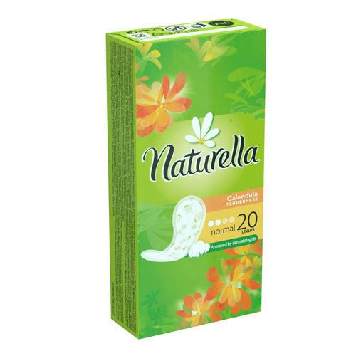 Прокладки ежедневные Нормал Календула 20 (Naturella, Нормал) депенд прокладки для взрослых женские норм 7