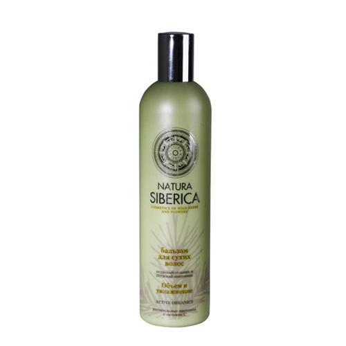 Natura Siberica Бальзам для сухих волос Объем и увлажнение 400 мл (Био-уход за волосами)