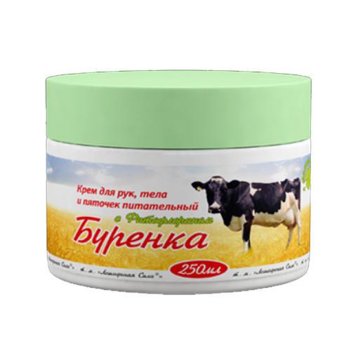 Буренка крем для рук, тела и пяточек с Фитофлораном 250 мл (Horseforce) от Pharmacosmetica