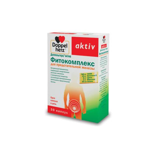 Doppelherz Фитокомплекс для предстательной железы 30 капсул (Актив)