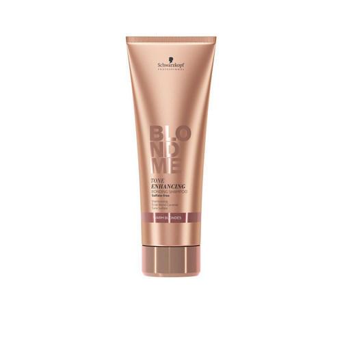 Schwarzkopf Professional Бондинг-шампунь для поддержания теплых оттенков блонд 250 мл (Schwarzkopf Professional, Blondme) недорого