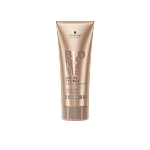 Schwarzkopf Professional Бондинг-кондиционер кератиновое восстановление для волос блонд 200 мл (Schwarzkopf Professional, Blondme) недорого