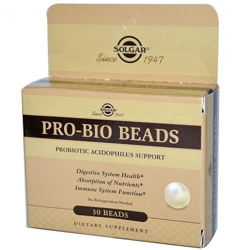 ПроБио шарики 30 капсул (Solgar, Пробиотики) цена