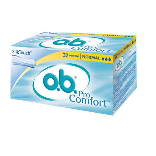 O.B. Тампоны нормал 32 штук (O.B., ProComfort)