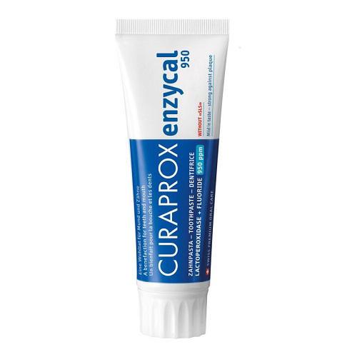 Curaprox Зубная паста Enzycal 950 75 мл (Зубные био-пасты)