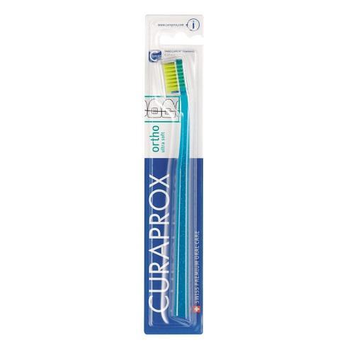 Ортодонтическая зубная щетка (Curaprox, Мануальные зубные щетки) зубная щетка curaprox ultra soft 5460 цена