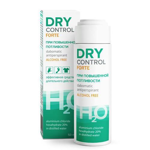 Форте дабоматик без спирта от обильного потоотделения 20, 50 мл (Dry Control, Dry Control) цена