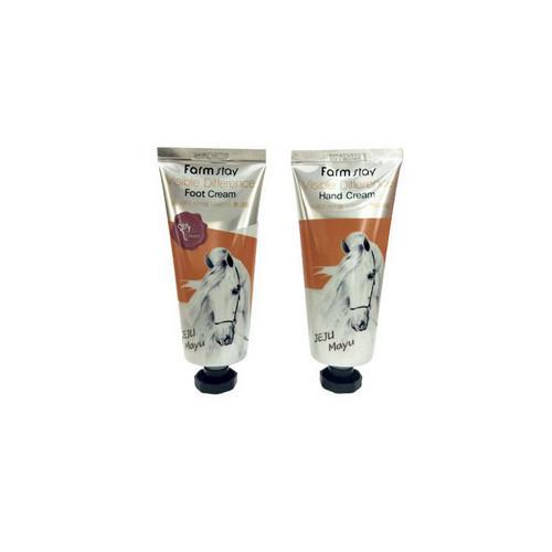 Набор питательный крем для рук и питательный крем для ног, 100100 гр (Farmstay, Для тела) подарочный набор интенсивное восстановление крем для рук крем для ног мусс для тела