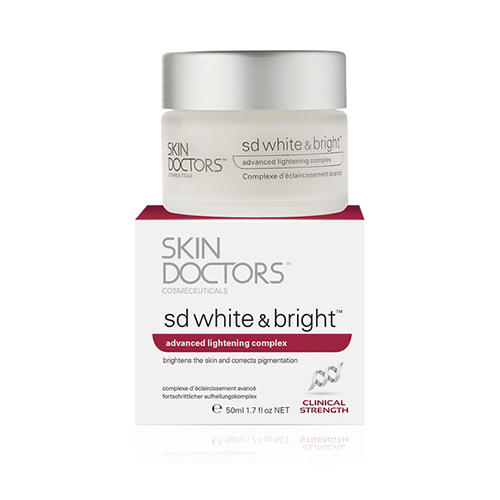 Отбеливающий крем SD White Bright 50 мл (Skin Doctors, Clear) skin doctors sd white