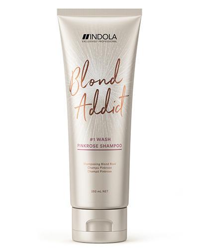 Indola Оттеночный шампунь Pinkrose 250 мл (Indola, Blond Addict)