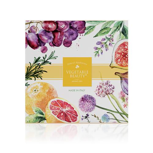 Подарочный набор натурального мыла 2 (Vegetable beauty, Vegetable beauty) мыло косметическое aphrodite натуральное оливковое мыло набор с пемзой 260 гр