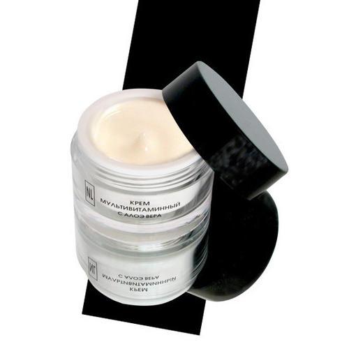 Крем мультивитаминный с алоэ вера 50 мл (New line Крема)