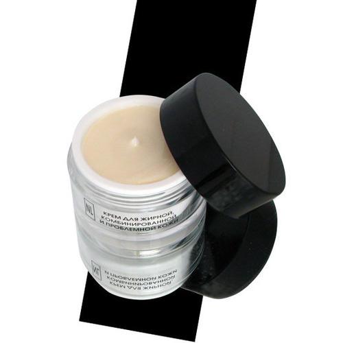 Крем для жирной, комбинированной и проблемной кожи  50 мл (Ежедневный уход) (New line)