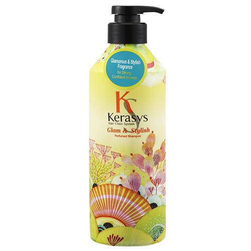 Шампунь парфюмированный для волос Гламур 600 мл (Kerasys, Perfumed Line) кондиционер kerasys для волос оздоравливающий 600 мл