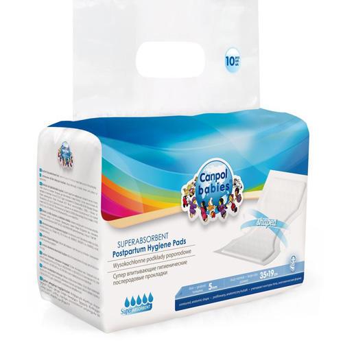 Canpol Супервпитывающие послеродовые прокладки 10 шт (Товары для мам)
