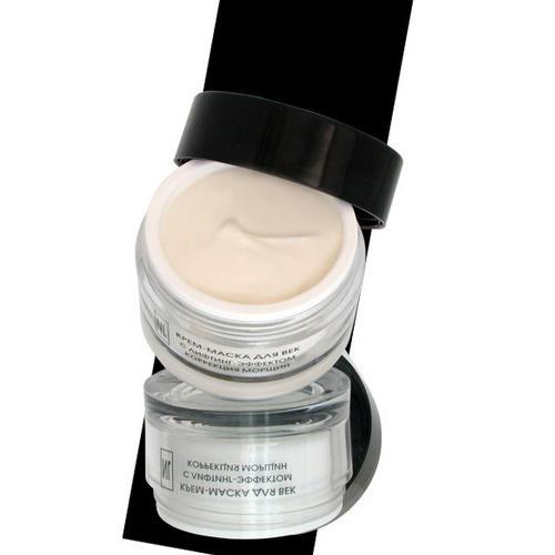 Крем-маска для век с лифтинг-эфектом для коррекции морщин  50 мл (New line Крем-маски)