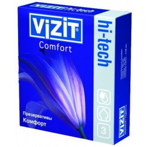 Презервативы №3 Hi-tech Comfort (Visit презервативы)