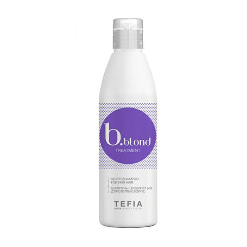 Купить Tefia Шампунь серебристый для светлых волос 250 мл (Tefia, Bblond)