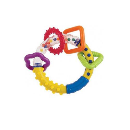Погремушка разноцветные колечки 0 (Canpol, Прорезыватели)