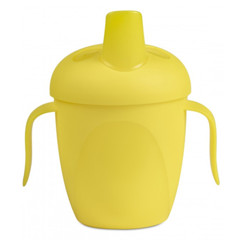поильники Canpol Чашка-непроливайка Tropical Bird 240 мл. 9+ желтый (Canpol, Поильники)