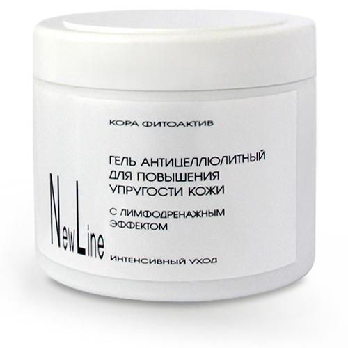 Гель антицеллюлитный для повышения упругости кожи с лимфодренажным эффектом 300 мл (New line, SPA Уход)