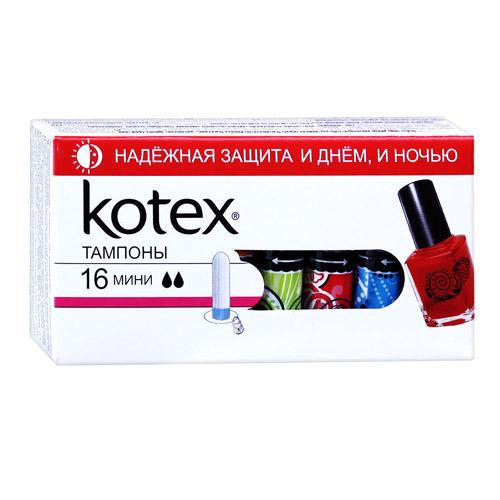 Kotex Тампоны мини №16 (Kotex, Тампоны)