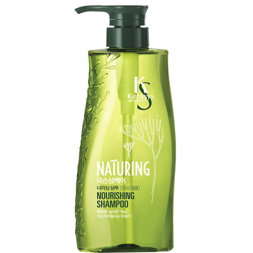 Шампунь для волос, питание, с морскими водорослями 500 мл (Kerasys, Naturing) шампунь для волос прелесть bio питание и увлажнение с алоэ и морскими минералами 500 мл