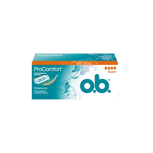 Купить O.B. Тампоны супер 16 штук (O.B., ProComfort), Германия